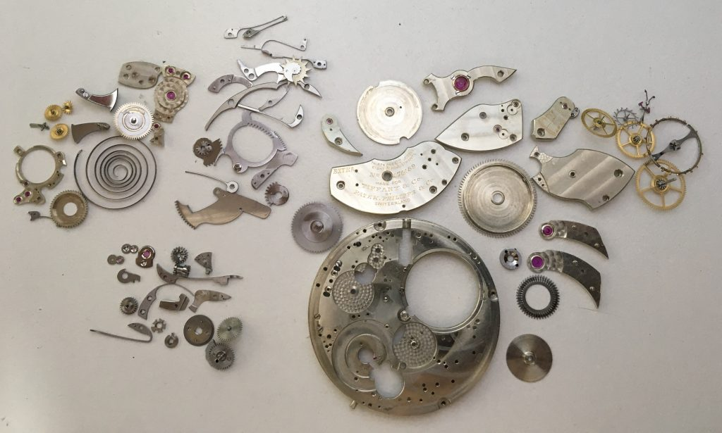 Patek Philippe repeater in pieces