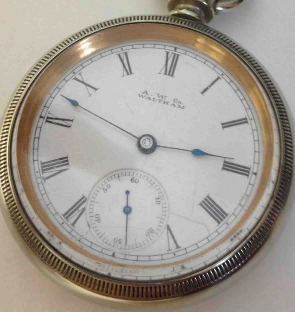 Waltham 18s pocket watch