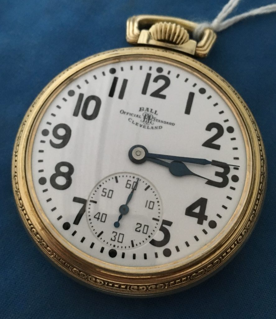 Ball Railroad pocket watch Hamilton 992
