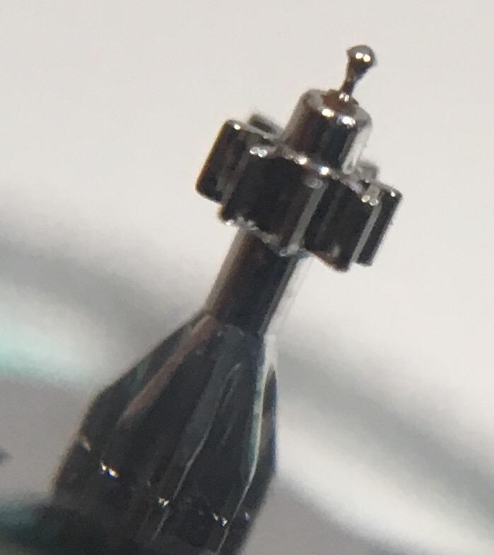 Watch repair worn pivot
