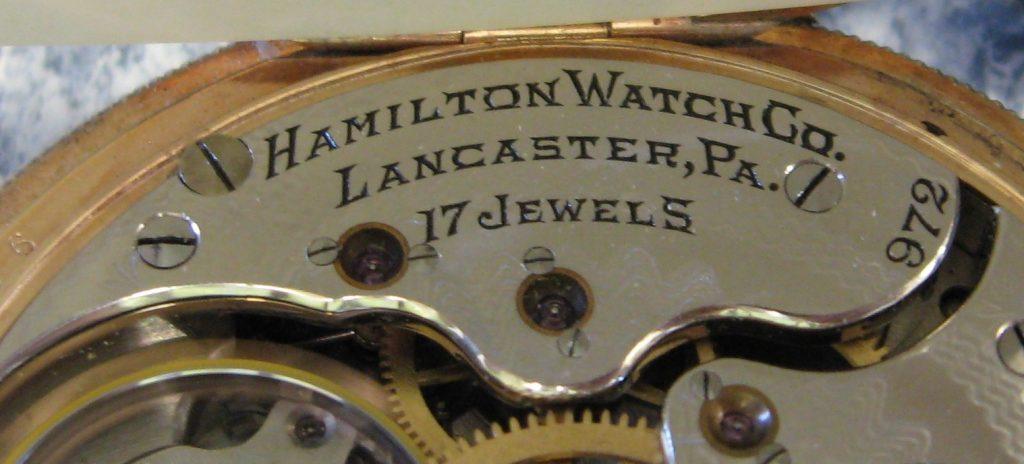 Hamilton 17 jewel