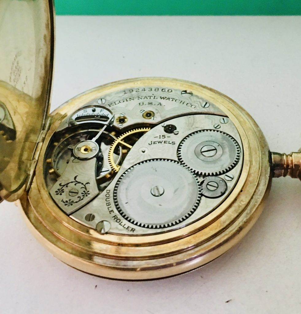 Elgin 12s serviced and cased