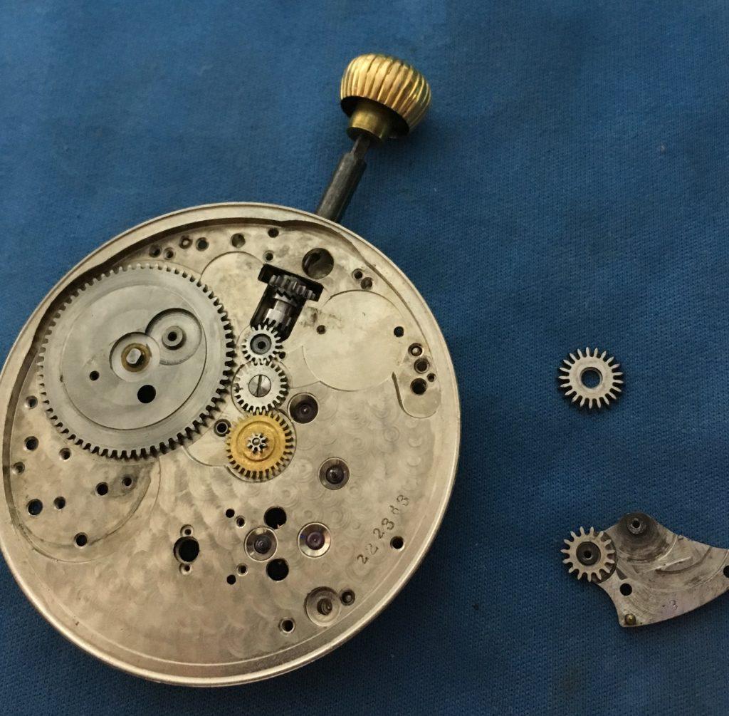 E. Howard 18s pocket watch service