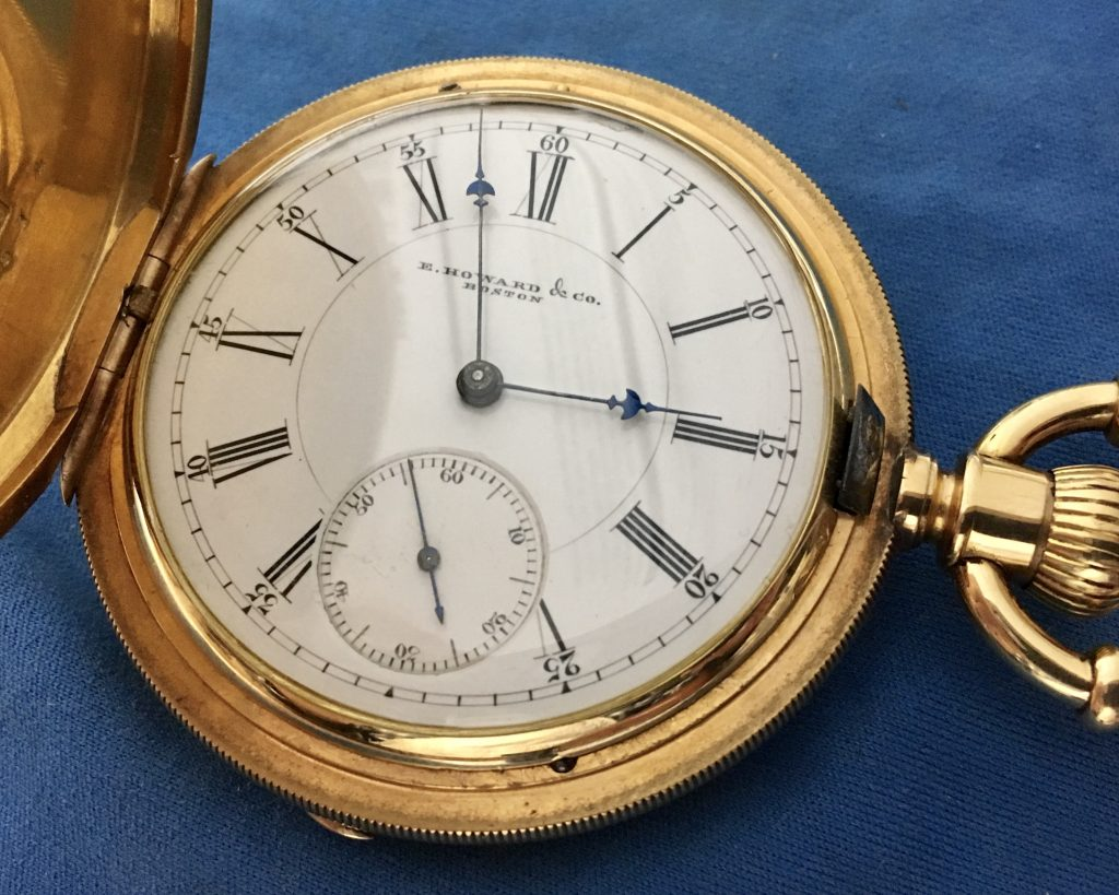E. Howard pocket watch service and repair
