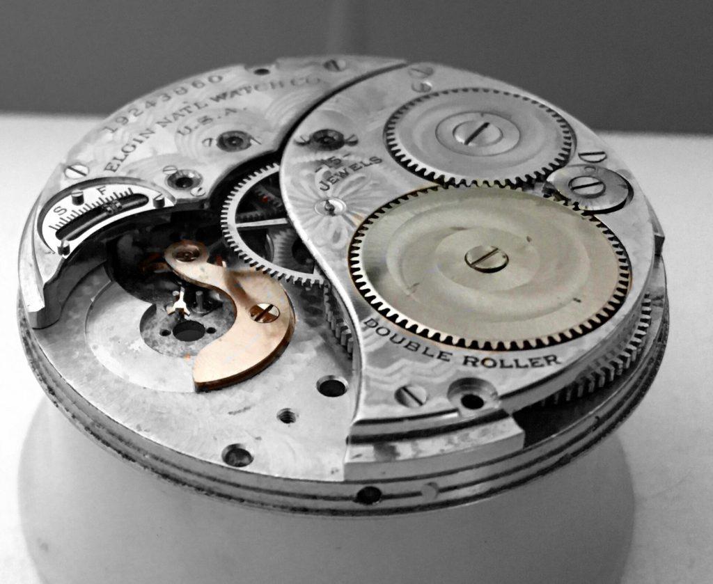 Elgin ratchet wheel