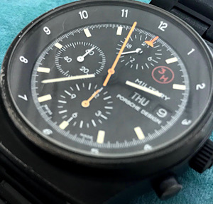 Porshe Design Military Chronograph repair